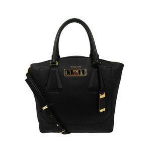 Michael Kors Black Leather Tote Handbag$1,295.00